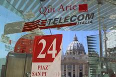 Telecom Italia n'a pas eu le moindre contact avec Orange au sujet d'une éventuelle alliance, a déclaré vendredi le président de l'opérateur télécoms italien, Giuseppe Recchi. /Photo d'archives/REUTERS/Alessandro Bianchi