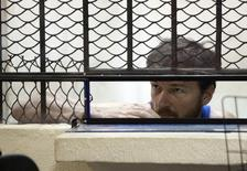 U.S. producer Bruce Beresford-Redman is seen during the fourth court hearing at a jail in Cancun June 11, 2012. REUTERS/Victor Ruiz Garcia