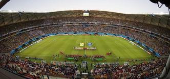 Arena Amazônia, em Manaus, em foto de arquivo.   14/06/2014     REUTERS/Andres Stapff
