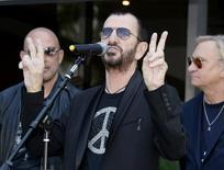 Ringo Starr durante evento em Los Angeles. 07/07/2014. REUTERS/Kevork Djansezian