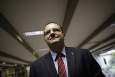 Ministro Nelson Barbosa no Senado Federal. 17/3/2015 REUTERS/Ueslei Marcelino