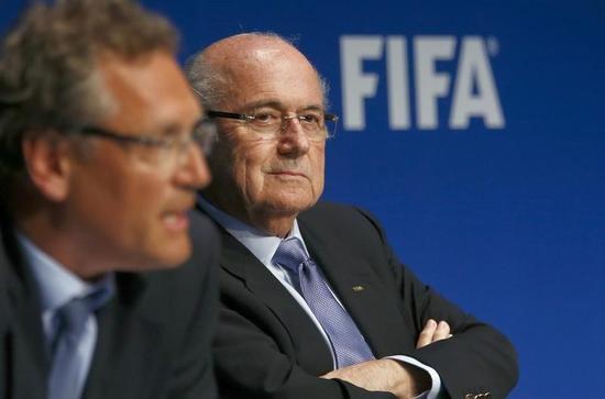 サッカー=26年W杯開催国、17年5月のFIFA総会で選出