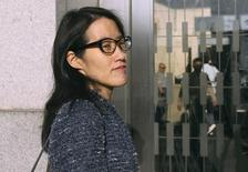 Ellen Pao arrives at San Francisco Superior Court in San Francisco, California March 3, 2015. REUTERS/Robert Galbraith