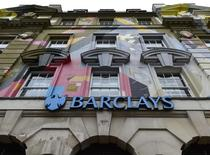A branch of Barclays bank is seen in central London in this photograph dated October 22, 2014. REUTERS/Toby Melville/Files