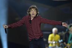 Mick Jagger, vocalista dos Rolling Stones, se apresenta em Estocolmo, na Suécia, no ano passado. 01/07/2014 REUTERS/Anders Wiklund/TT News Agency
