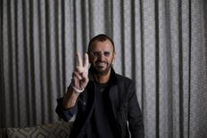 Musician Ringo Starr poses for a portrait in West Hollywood, California March 30, 2015.  REUTERS/Mario Anzuoni