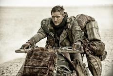 "Tom Hardy as Max Rockatansky in ""Mad Max: Fury Road."" REUTERS/Warner Bros. Pictures"