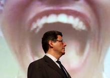 Ministro da Fazenda, Joaquim Levy 30/03/2015. REUTERS/Paulo Whitaker