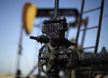 Pump jacks are seen in the Midway Sunset oilfield, California, in this April 29, 2013 file photo. REUTERS/Lucy Nicholson
