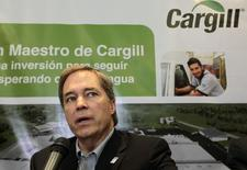 President and CEO of Cargill David MacLennan speaks during a news conference in Managua March 17, 2015.  REUTERS/Oswaldo Rivas