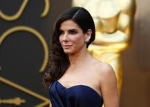Atriz Sandra Bullock durante premiação do Oscar. 02/03/2014.   REUTERS/Lucas Jackson