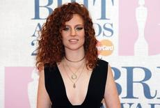 Singer Jess Glynne arrives for the BRIT music awards at the O2 Arena in Greenwich, London, February 25, 2015. REUTERS/Suzanne Plunkett