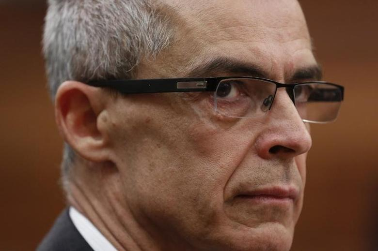 Canadian Security Intelligence Service (CSIS) director Michel Coulombe waits to testify before the Commons public safety and national security committee on Parliament Hill in Ottawa October 8, 2014. REUTERS/Chris Wattie