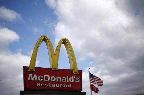 米マクドナルド、第1四半期は11%減収 米既存店売上高も2.3%減