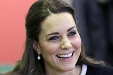 Kate Middleton durante evento em Nova York. REUTER/Seth Wenig