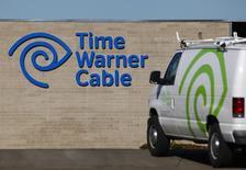 Selon des sources au fait du dossier, Time Warner Cable est ouvert à des discussions de fusions avec Charter Communications après l'échec du projet de rapprochement avec Comcast. /Photo d'archives/REUTERS/Mike Blake