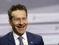 Netherlands' Minister of Finance and Eurogroup President Jeroen Dijsselbloem attends an informal meeting of Ministers for Economic and Financial Affairs (ECOFIN) in Riga, Latvia, April 25, 2015. REUTERS/Ints Kalnins