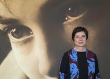"Actress Isabella Rossellini, Jury President of Film selection ""Un Certain Regard"", poses for a photocall ahead of a debate ""Kering Women in Motion"" at the 68th Cannes Film Festival in Cannes, southern France, May 14, 2015.  REUTERS/Yves Herman"