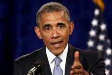Foto de arquivo do presidente dos EUA, Barack Obama. 23/04/2015  REUTERS/Jonathan Ernst