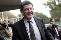 Ministro Joaquim Levy 5/5/2015 REUTERS/Ueslei Marcelino