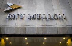 The Bank of New York Mellon Corp. building at 1 Wall St. is seen in New York's financial district March 11, 2015. REUTERS/Brendan McDermid (UNITED STATES - Tags: BUSINESS) - RTR4SYFE