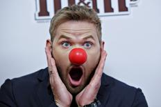 Actor Kellan Lutz attends the Red Nose Charity event in New York May 21, 2015. REUTERS/Eduardo Munoz