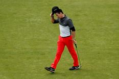 Golf - BMW PGA Championship - Virginia Water, Surrey, England - 22/5/15 Northern Ireland's Rory McIlroy looks dejected after finishing the 18th hole during the second round Action Images via Reuters / Andrew Boyers Livepic