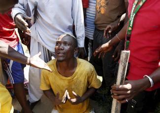 Street battles in Burundi