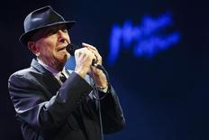 Cantor e compositor canadense Leonard Cohen no Montreux Jazz Festival. 04/07/2013  REUTERS/Valentin Flauraud