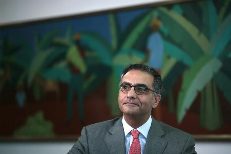 Fadi Chehade, president and CEO of Internet Corporation for Assigned Names and Numbers (ICANN), attends a meeting with Brazil's President Dilma Rousseff (not seen) at the Planalto Palace in Brasilia October 9, 2013. REUTERS/Ueslei Marcelino