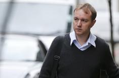 Former trader Tom Hayes arrives at Southwark Crown Court in London, Britain June 2, 2015. REUTERS/Suzanne Plunkett