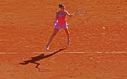 Tennis - French Open - Roland Garros, Paris, France - 4/6/15 Women's Singles - Czech Republic's Lucie Safarova in action during the semi final Action Images via Reuters / Jason Cairnduff Livepic