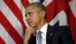 Presidente dos EUA, Barack Obama, na Alemanha. 07/06/2015  REUTERS/Kevin Lamarque