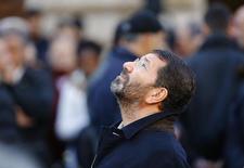 Prefeito de Roma, Ignazio Marino, durante evento com papa Francisco, em Roma, em dezembro do ano passado. 08/12/2014 REUTERS/Stefano Rellandini