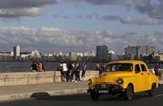 Avenida El Malecón, em Havana, Cuba. 17/12/2014 REUTERS/Enrique De La Osa