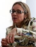 Vice-presidente de Finanças da Odebrecht, Marcela Drehmer, em entrevista à Reuters em São Paulo. REUTERS/Paulo Whitaker