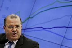 Presidente do Banco Central, Alexandre Tombini, durante audiência na Câmara dos Deputados 26/05/2015. REUTERS/Ueslei Marcelino