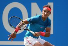 Tennis - Aegon Championships - Queens Club, London - 16/6/15 Men's Singles - Spain's Rafael Nadal in action during his first round match Action Images via Reuters / Paul Childs Livepic