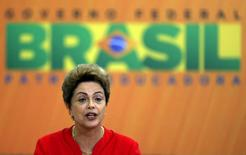 Presidente Dilma Rousseff durante evento no Palácio do Planalto, em Brasília. 09/06/2015 REUTERS/Bruno Domingos