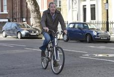 Apresentador de TV britânico Jemery Clarkson, em Londres. 26/03/2015  REUTERS/Toby Melville
