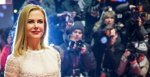 La actriz Nicole Kidman llega al Festival Internacional de Cine de Berlín, el 6 de febrero de 2015. La australiana Nicole Kidman, ganadora de un Oscar, instó a que se creen más oportunidades para las mujeres en el cine, definiendo al sector como una industria en la que no hay igualdad de condiciones y uniéndose así a un coro de actrices que han condenado la desigualdad de género en Hollywood.  REUTERS/Hannibal Hanschke