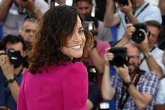 Atriz Alice Braga durante evento no festival de cinema de Cannes, na França, no ano passado. 18/05/2014 REUTERS/Eric Gaillard