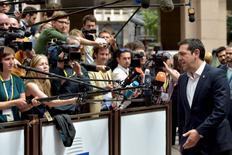 Premiê grego, Alexis Tsipras, em Bruxelas, na Bélgica. 25/06/2015 REUTERS/Eric Vidal