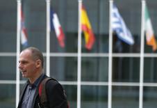 Ministro das Finanças da Grécia, Yanis Varoufakis, durante encontro em Luxemburgo.  19/06/2015   REUTERS/Francois Lenoir