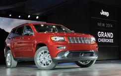 The 2014 Jeep Grand Cherokee is introduced at the North American International Auto Show in Detroit, Michigan January 14, 2013. REUTERS/James Fassinger