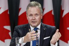 Bank of Canada Governor Stephen Poloz takes part in a news conference in Ottawa June 11, 2015.   REUTERS/Blair Gable
