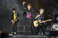 Banda de rock britânica The Rolling Stones durante show em Nashville, nos Estados Unidos. 17/06/2015 REUTERS/Ron Modra