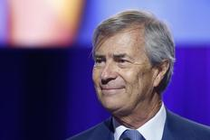 Vincent Bollore, chairman of Vivendi and largest shareholder, attends the company's shareholders meeting in Paris, April 17, 2015.  REUTERS/Charles Platiau