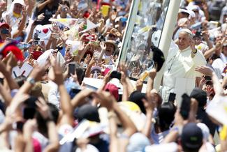 Pope Francis visits Latin America