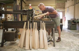 The art of cricket bat making